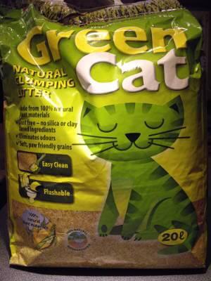 GreenCat Naturklumpstreu Klumpstreu Verpackung